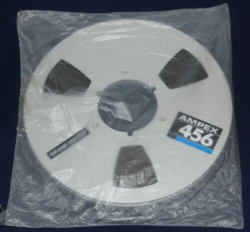 SEALED VINTAGE AMPEX 456 METAL REEL TO REEL TAPE WITH BOX 2500