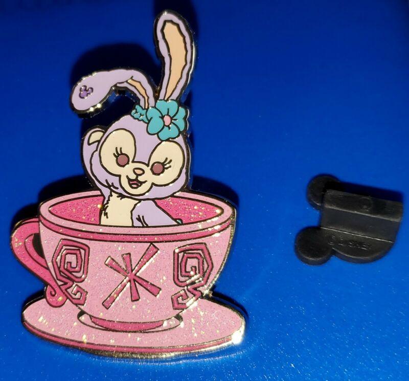 Disney Pin Stella Lou Waving in Tea Cup Magic Access Exclusive 2017 HKDL