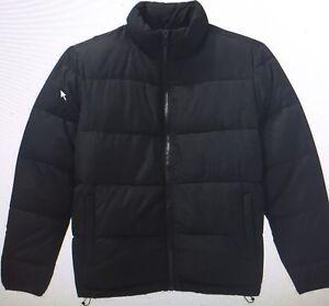 Men's black winter jacket new