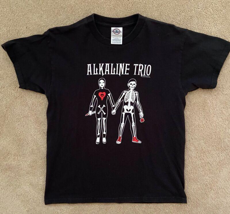 Alkaline Trio Girl Boy Skeletons Black Youth Women