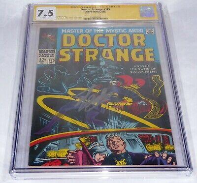 Doctor Strange #175 CGC SS Signature Autograph STAN LEE Marvel Silver Age Comic