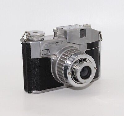 Comet 127 Film Art Deco Camera with case - c.1948 - Made by Bencini, Italy – GC