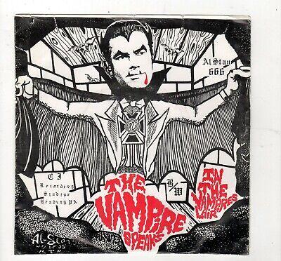 HALLOWEEN/HORROR-THE VAMPIRE (AL ZANINO) SPEAKS/IN THE VAMPIRE LAIR-SPOKEN WORD