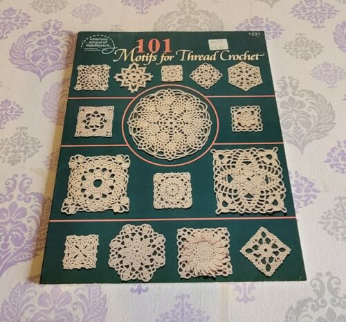 American School Needlework 101 MOTIFS FOR THREAD CROCHET #1231
