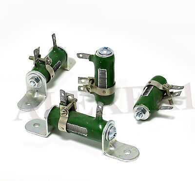 4 X Wirewound Power Ceramic Variable Resistor Ussr 10w Tube Amps With Mounting