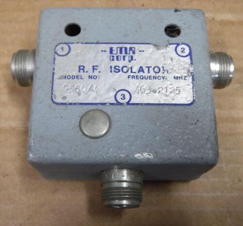 EMR 7550/4    RF ISOLATOR   FREE SHIPPING