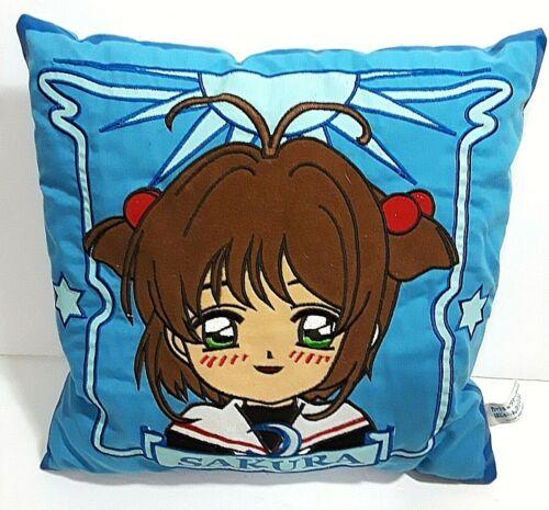 CardCaptor SAKURA WARS Sega Game Blue Promo Pillow Throw Cushion Anime Card Capt