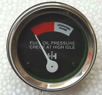 Fuel Pressure Gauge Fits-ih Md Mdv Mta Wd6 Id6 Id9diesel 400450600650