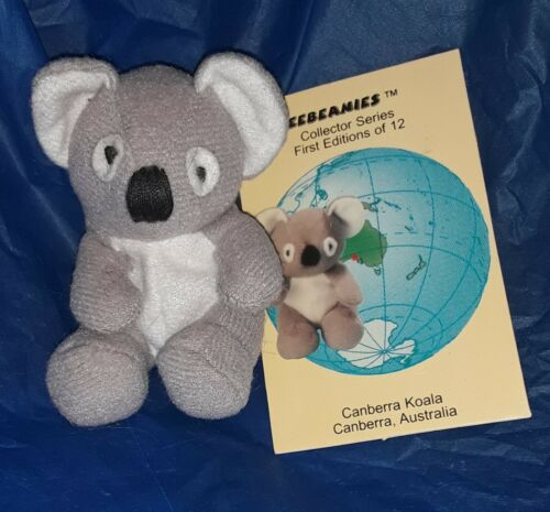 Princess Soft Toys Weebeanies Canberra Koala Gray Plush Stuffed Animal With Tags