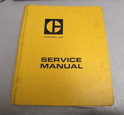 Caterpillar Cat 5p3600 Hydraulic Flow Meter Service Manual Special Instruction