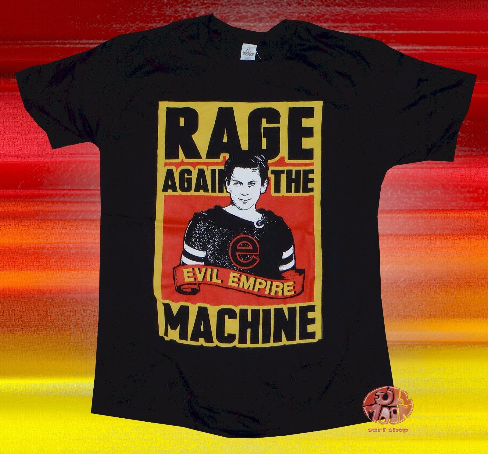 New Rage Against The Machine Evil Empire Mens Classic Vintage T-Shirt