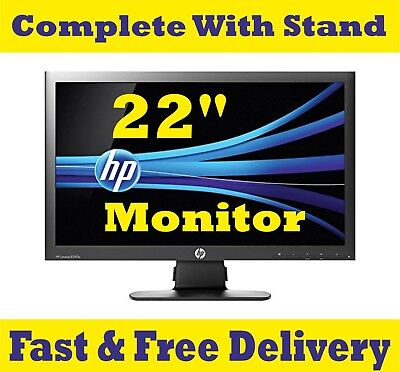 "Cheap 22"" TFT COMPUTER PC, CCTV, LAPTOP MONITOR SCREEN VGA FLATSCREEN"