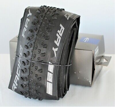 NEW Schwalbe Racing Ray Tire 27.5 x 2.25 Folding Bead Performance Line Addix Folding Bead Race