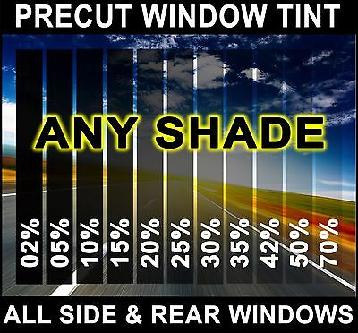 PreCut All Sides  Rears Window Film Any Tint Shade VLT for Ford Cars Glass