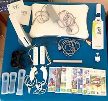 Wii console plus games and accessories Royalla Queanbeyan Area Preview