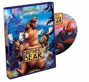 Brother Bear 2004 Joaquin Phoenix, Jeremy Suarez BRAND NEW AND SEALED UK R2 DVD