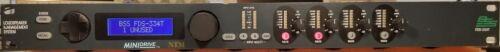 BSS FDS-334T MiniDrive Loudspeaker Management System 2x4 Digital Crossover
