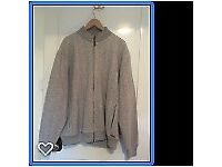 Mens Jacket/Cardigan, Light Grey, Brand new without labels,Size XXL £25