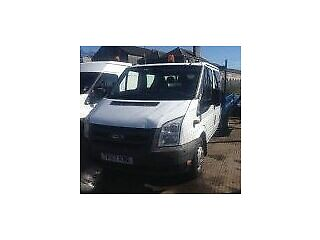 2007 07 reg ford transit 115 t350 double cab drop side lorry