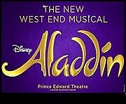 Disney Aladdin tickets x 4 for the Prince Edward theatre London on the 18th November.