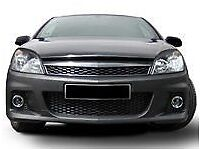 Vauxhall Opel Astra H Mk5 VXR Front Bumper Complete inc Bumper Grille Lower Tray Fog Lamp Bezels