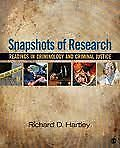 Snapshots of Research: Readings in Criminology and Criminal Just Peterborough Peterborough Area image 1
