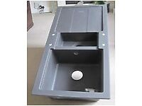 New unused Carron Phoenix Granite kitchen sink. Boxed.