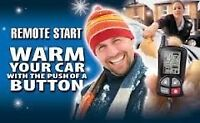 Beat the cold with a remote car starter installed this winter