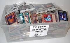Yu-Gi-Oh 30 Card Grab Packs