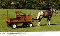 Amish made Pioneer 1/2 ton Pony Wagon from ADHS