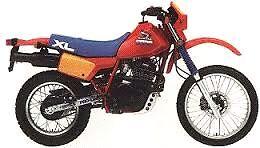 Wanted Honda XL600R Parts