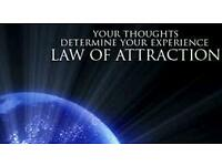 "UNIVERSAL LAW OF ATTRACTION "" THOUGHTS CREATE REALITY"" COURSE JULY/AUGUST 2016."