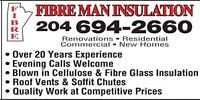 Fibre Man Insulation