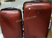 Set of 2 Heys Hard Shell Suitcases on Casters