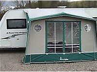Isabella Magnum Porch Awning with Carbon Fibre Poles