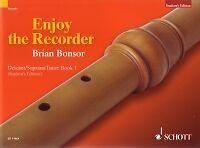 ENJOY THE RECORDER Descant Tutor Book 1 Bonsor*