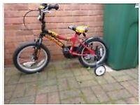 Small boys bike