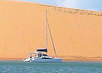 Crowther  catamaran new refit 35ft