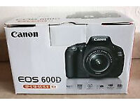 Canon 600D (Body only in Box)
