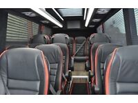 8 to 35 seater coach and minibus hire london
