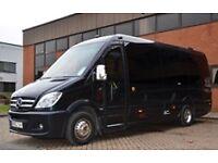 8 to 38 seater minibus hire