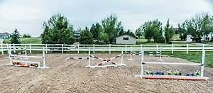 Long Wood Poles or Used Horse Jumps