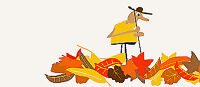 Fall Yard Clean Up (Leaves Raked and Bagged)