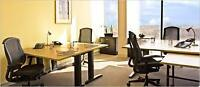 FURNISHED OFFICE SPACES AVAILABLE NOW!