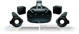 NEW HTC VIVE used once and my eyes couldn't handle it. 600$ nego