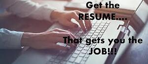 Professional Resume Writing & Editing