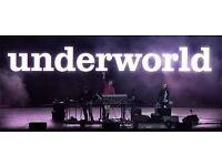 1 x underworld ticket, alexandra palace, £30