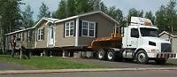 DALE'S MOBILE HOME MOVERS /HAULERS