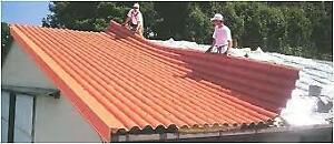 Looking for used roofing metal