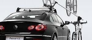 VW hydraulic bike lift -automatically lifts your bike to car top